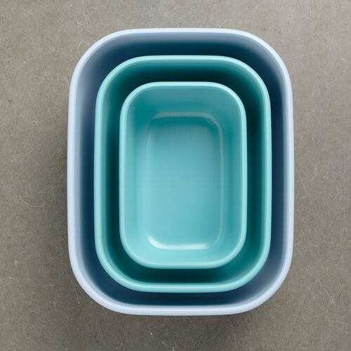 bote de cocina Cirqula rectangular 2000 ml nordic green