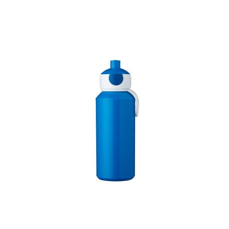 Botella pop-up Campus 400 ml - Azul